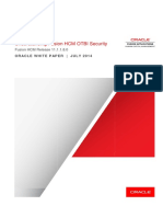 Fusion HCM OTBI Security White Paper 11.1.1.8.0