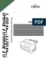 Fujitsu DL6400_6600 PRO User Manual