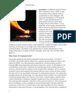 Jack Oughton - Sunshine as Science Communication