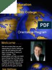 Orientation Distance Education