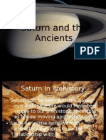 Jack Oughton - Brief History and Mythology of Saturn