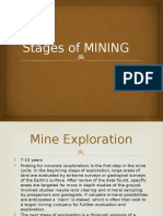 Stages of MINING