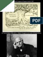 Jack Oughton + Osian Jones - Eugenics Presentation