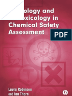 Toxicology and Eco Toxicology in Chemical Safety