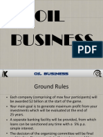 Oil Business Rules