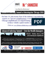 ENHANCED INDEXING EVENT - CHICAGO - June 14 - Updated Agenda