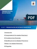 NICSP 1 - Presentación de Estados Financieros