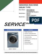 Samsung WF407 WF409 WF350 WF330 Washer Service Manual (1)