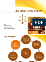 Complianceoflabourlaws India