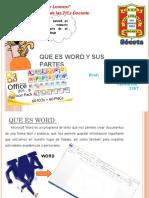 Word y Sus Barra de Herramientas