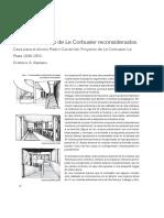 SI Cinco Puntos Le Corbusier Reconsiderados Gustavo Azpiazu