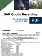 SAP Goods Receiver