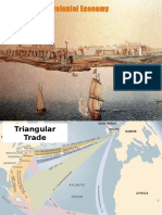 colonial economy and trade notes