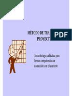Metodo_trabajo Por Proyectos