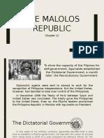 The Malolos Republic Presentation