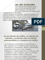 Accidentes de Tránsito Exposicion