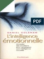 Goleman, Daniel - L'Intelligence Émotionnelle