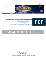 EDIGIREGION Conference Speakers Support Specialists Brochure