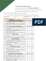 Formato de Encuesta Clima Organizacional