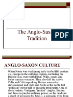 The Anglo-Saxon Tradition