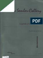 Jules Semler Collery-Legende Et Divertissement-SheetMusicTradeCom