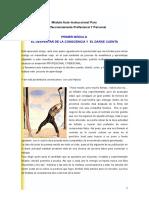 EL DESPERTAR DE LA CONSCIENCIA Y EL DARSE CUENTA.doc