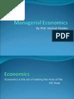 S1 Managerial Economics
