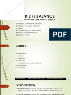 Work life balance dissertation pdf converter