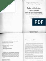 Redes intelectuales trasnacionales WAGNER