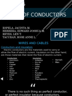 WIRES AND CONDUCTORS (PEC)