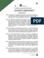 Normativa Técnica Sanitaria Sustitutiva Para La Regulación y Control de Medicamentos Que Contengan Sustancias Catalogadas Sujetas a Fiscalización