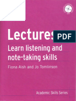 Fiona Aish - Lectures. Learn Academic Listening and Note-Taking Skills - 2013.pdf
