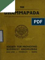 412. The Dhammapada Society for Promotion Buddhist Knowledge