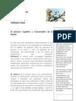 La Lectura Como Proceso Cognitivo y Comunicativo