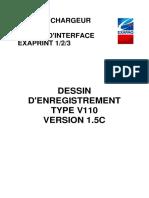 EXAPAQ - Dessin Enregistrement EXAPRINT v110
