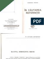 Gh. Craciun,Bacovia, Simbolismul Eretic_1998
