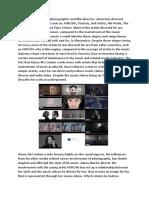 Kenny McCracken; Muisc director analysis