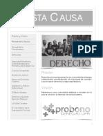 Revista Justa Causa 2013-2014 (Derecho UPR)