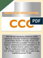 CCC Analiza SWOT - Prezentacja
