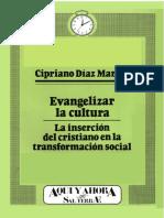 Evangelizar la Cultura (Diaz M. Cipriano).pdf