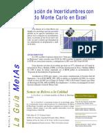 La Guia MetAs 07 03 GUM Suplemento 1 Monte Carlo
