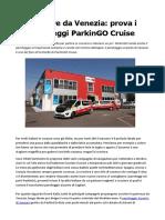 Parcheggio al porto di Venezia