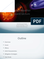 Space Weatherguest Lecture