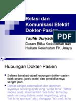 Relasi Dan Komunikasi Efektif