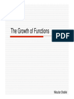 14 the Growth of Functions