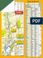 Fermeture des rues pour le Marathon de Montréal 2016