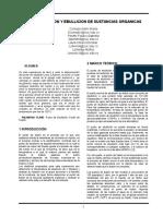 informe..punto de fusión y ebullición.. organica 1