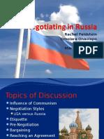 Negotiating in Russia