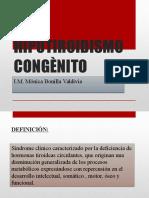 HIPOTIROIDISMO CONGÈNITO