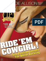 Ride 'Em Cowgirl! Sex Position - Allison, Dr. Sadie.epub